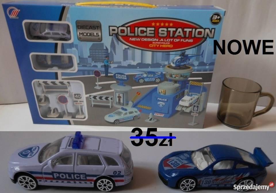 Parking Garaż Policyjny Auta Policja Zabawka Dla Chłopca Bąkowiec