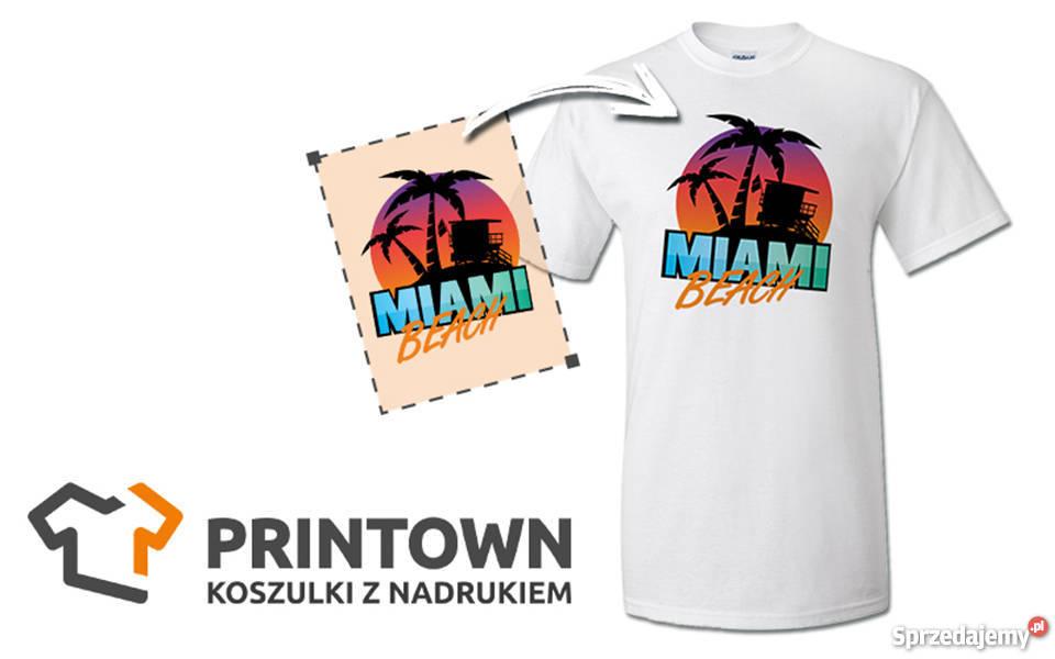 124e82c79 Koszulka z własnym nadrukiem - Logo, grafika, tekst, zdjęcie Lublin ...