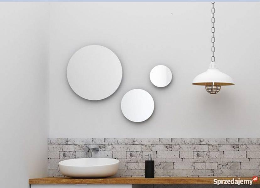 Lustro Okrągłe Do łazienki Salonu Przedpokoju Garderoby