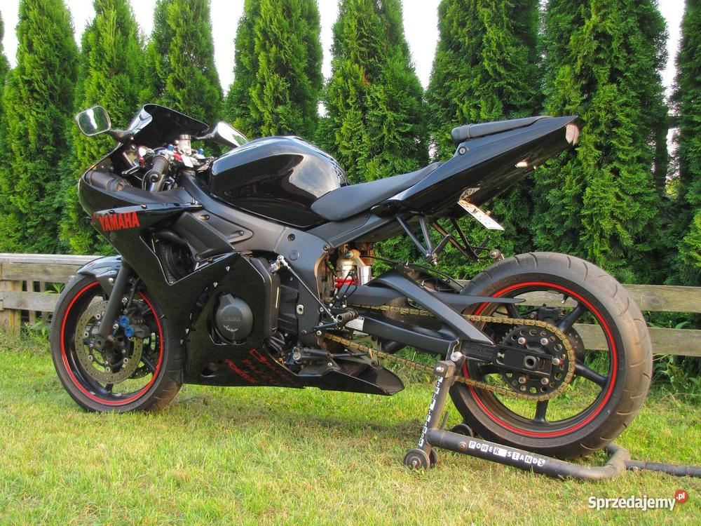 yamaha r6 czarna tuning. Black Bedroom Furniture Sets. Home Design Ideas