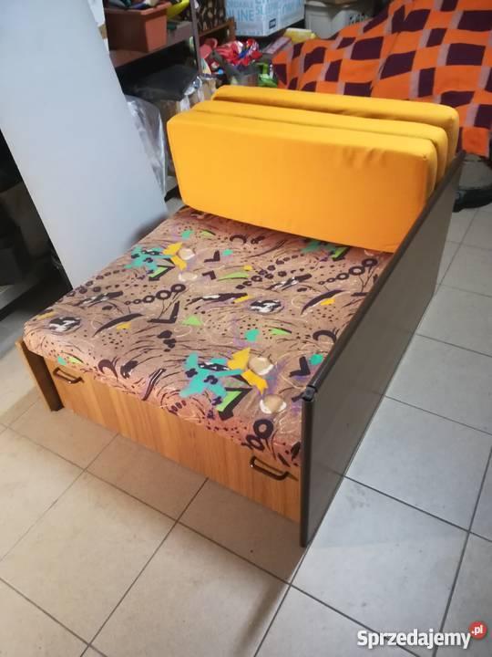 Sofa Fotel Rozkładany 1 Osobowy Fotel Tapczan łóżko Brzostek