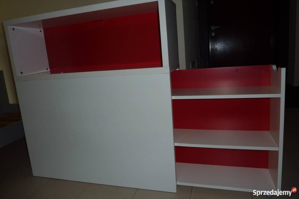 Ikea Zagłówekpłyta Szczytowa Z Półkami Odda Flaxa Z Ikea