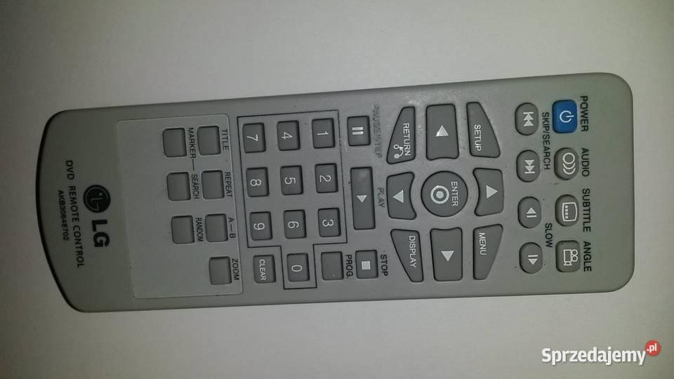 Oryginał pilot LG DVD LG AKB30648702 DVD