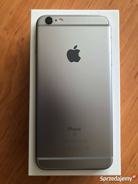 c6861c64d63b82 Apple iPhone 6S Plus 64GB Space Gray stan mazowieckie Warszawa
