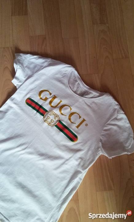 9022c50326c34 Koszulka biała gucci Rozmiar 36(S) Węgorzewo sprzedam