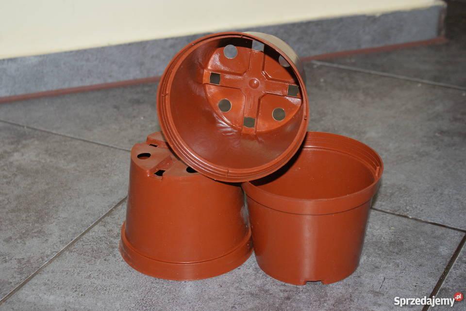 Doniczki Produkcyjne śr12 Cm 065l 10szt Brązowe 15grszt