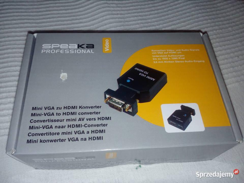 Konwerter VGA, HDMI SpeaKa Professional SP-4923212