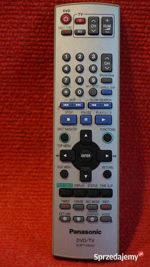 pilot Panasonic EUR7720 KAO nagrywarka DVD/HDD