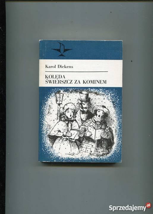 Dickens Karol Kolęda świerszcz Za Kominem