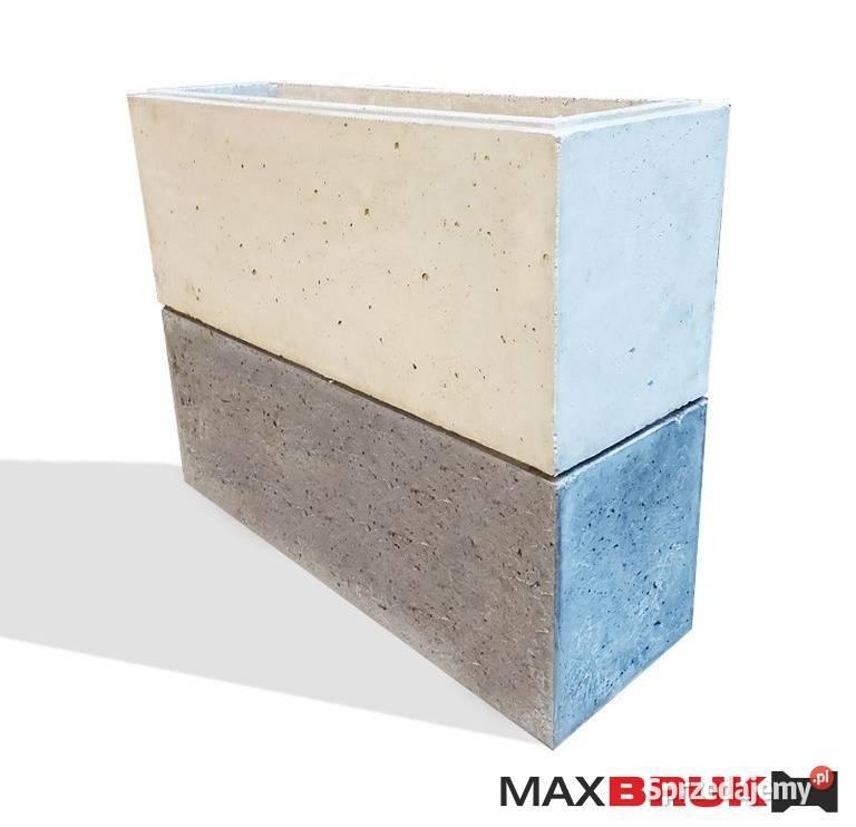 Ogrodzeniu z betonu architektonicznego