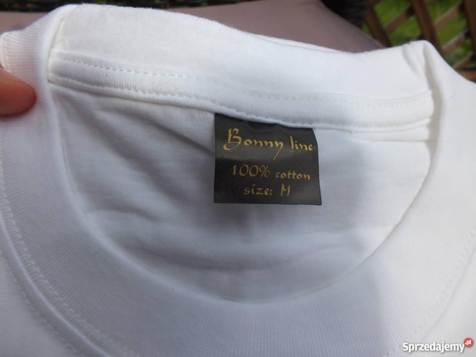 Białe koszulki Warszawa