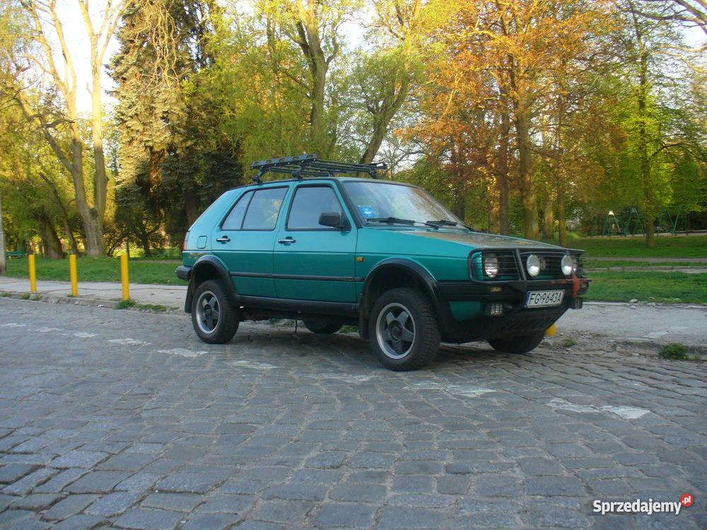 VW GOLF COUNTRY bezwypadkowy lubuskie Gorzów Wielkopolski