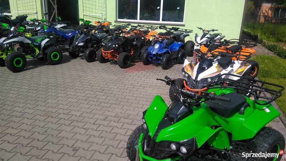 Quad 125 cc dla dzieci raty kredyty transport pod dom