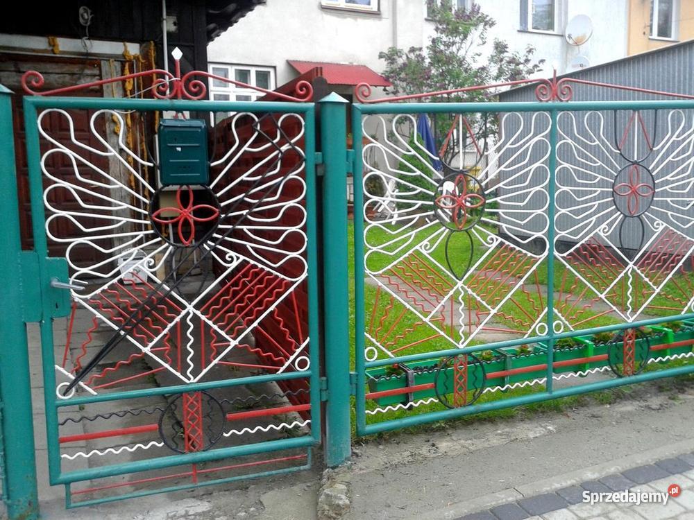 bramę wjazdową metal