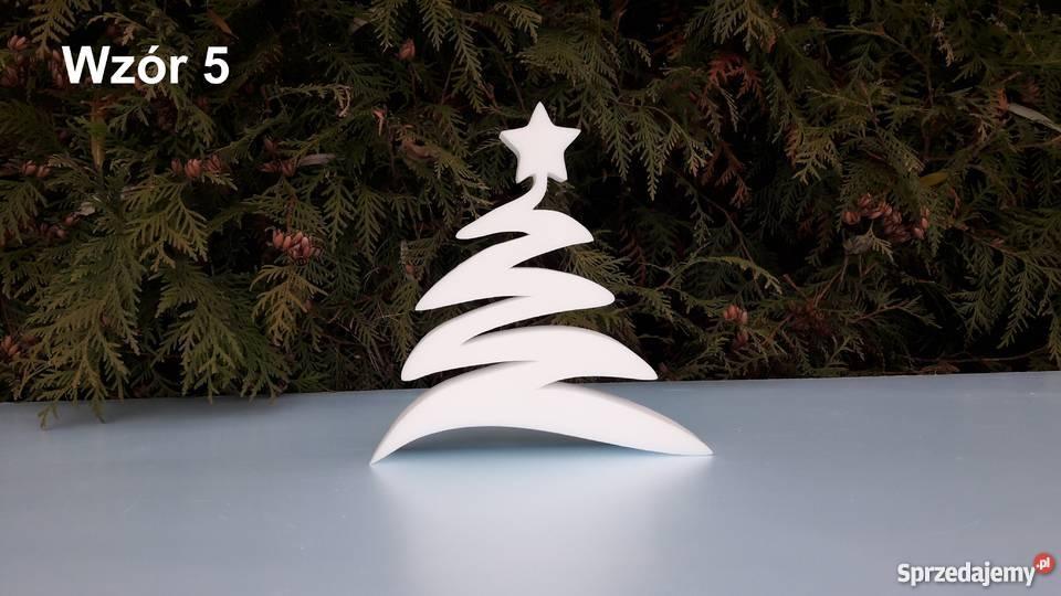 Choinka Styropianowa Ozdoby Dekoracje świąteczne