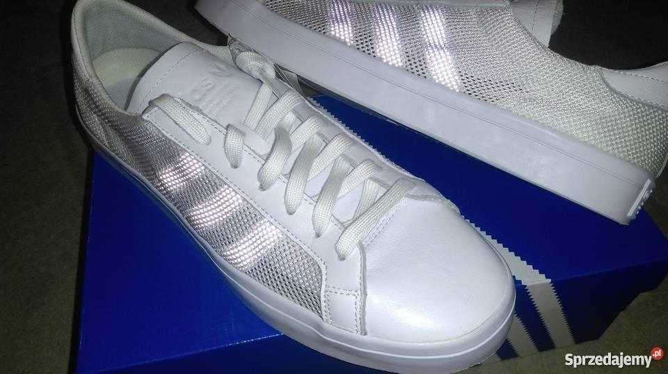 Adidas Court Vantage r 45 29 przewiewne z boku