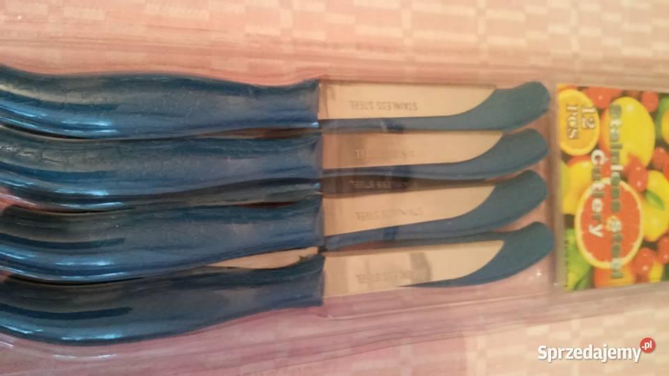 NOWY zestaw noży 8-częściowy w opakowaniu GRATIS