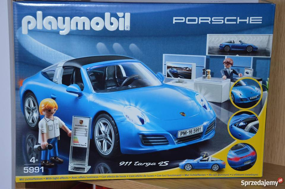 playmobil 5991 porsche 911 targa 4s warszawa. Black Bedroom Furniture Sets. Home Design Ideas
