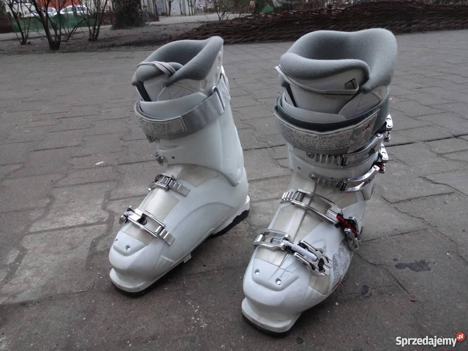 Okazja! Buty narciarskie WEDZE 26 26,5 cm; 305mm białe