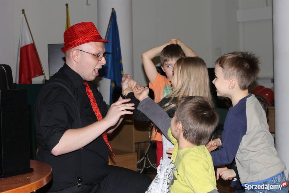 Iluzjonista dzieci na urodziny przedszkole Muzycy i artyści Warszawa