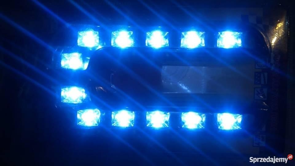 światła Do Jazdy Dziennej 6x2 Led 640 Ledowe E4 Do Samochodu