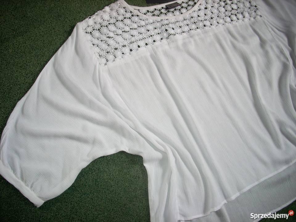 2e47f8c2124f07 C&A bluzka koszula KORONKA karczki NOWA 44 46 XXL Nowy Sącz ...