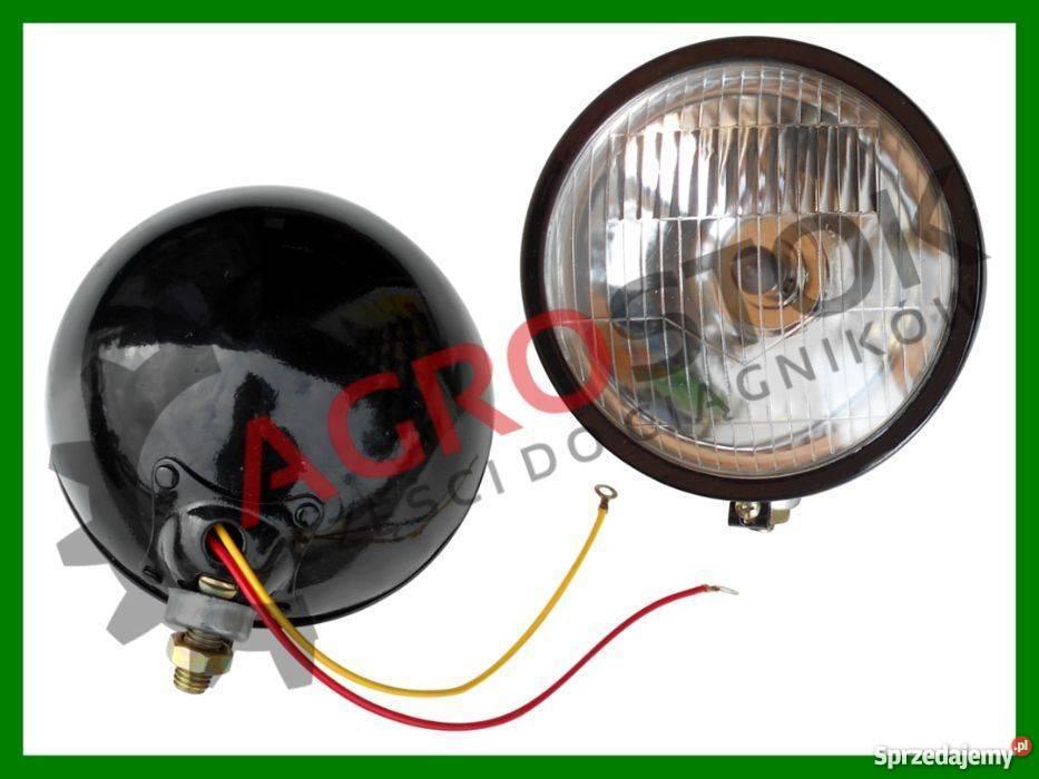 Lampa Przednia T25 T 25 Mtz Metalowa żarówka H4 Lampy Przód