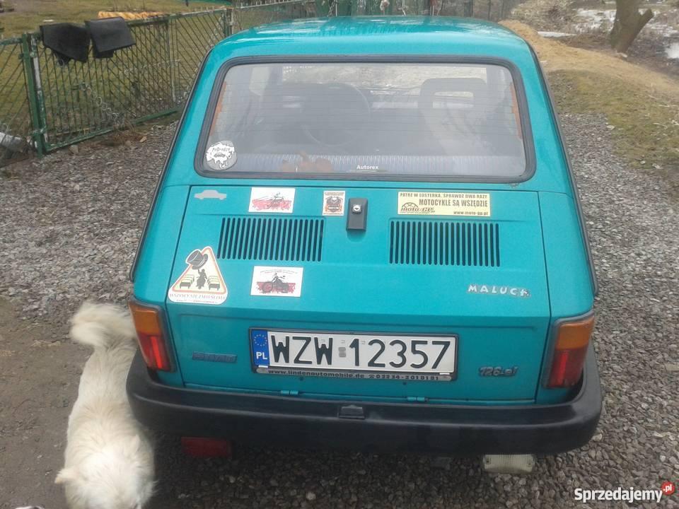 Fiat 126p Maluch Elegant Stan do Jazdy kupiony w polskim salonie