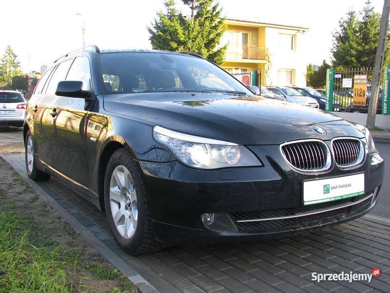 Nieuszkodzony BMW 525 E60 automatyczna skrzynia nieuszkodzony kujawsko-pomorskie Włocławek