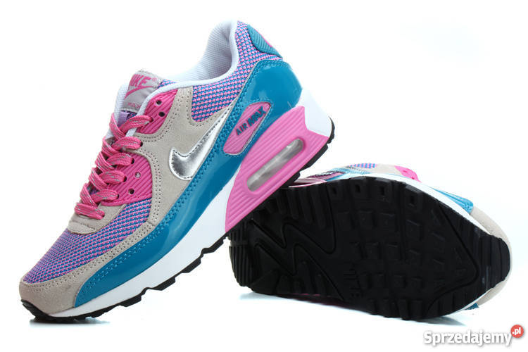 Nike Air Max 90 damskie 36 37 38 39 rózowe niebieskie szare