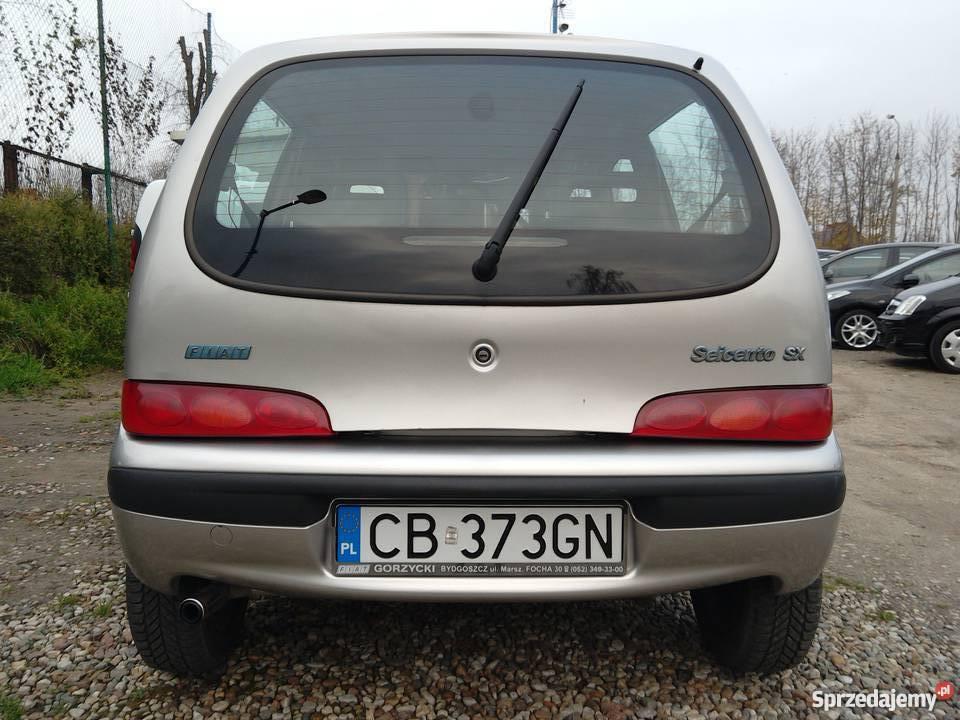 Fiat Seicento SX 2/3 Żnin sprzedam