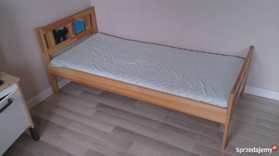 Wspaniały dwa Łóżka drewniane ikea KRITTER Poznań - Sprzedajemy.pl AB37