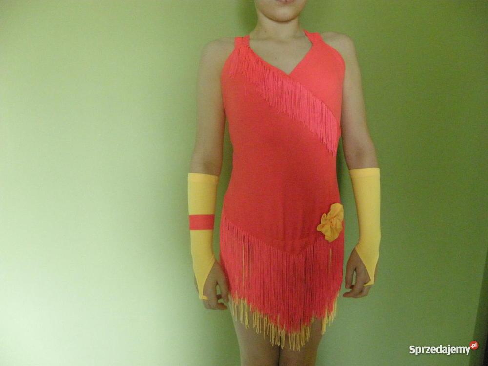 45de9a0820 Sukienka do tańca towarzyskiego Latyna w klasie E D C - Sprzedajemy.pl