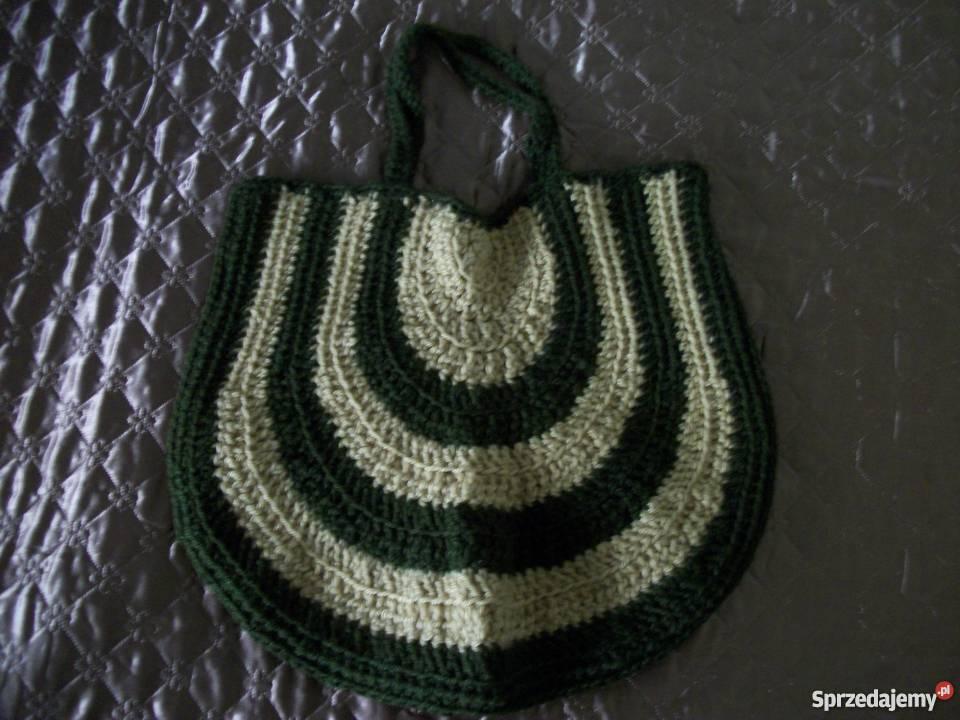 bbcea93f9e62e torebka z włóczki podkarpackie Przemyśl sprzedam