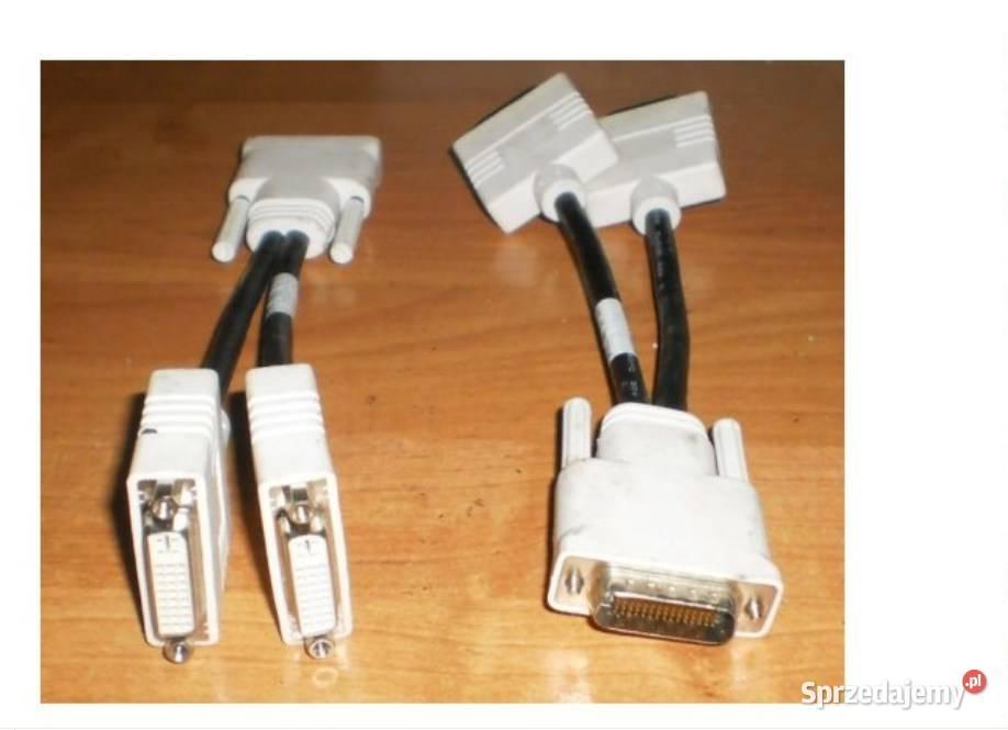 kabel adapter Karta graficzna pc Złącza DMS na dvi ,vga