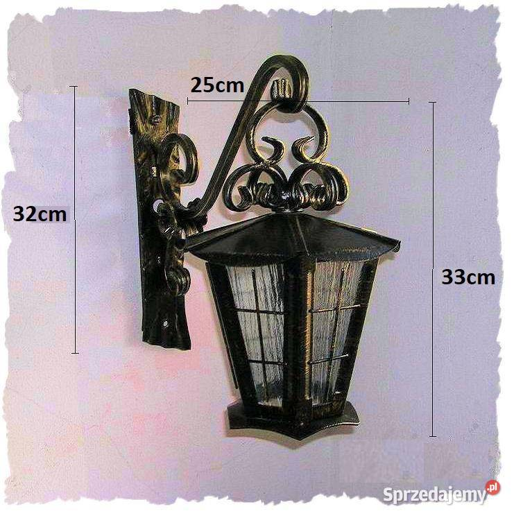 lampy wiszace ogrodowe kute