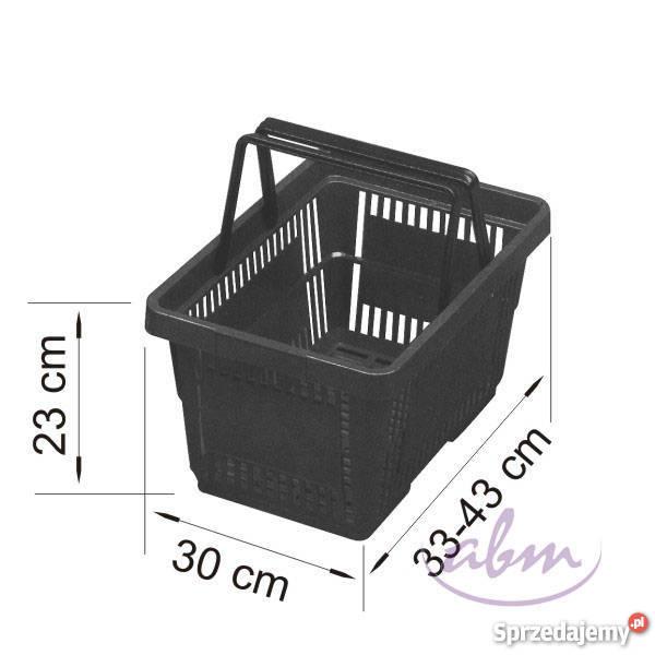 Koszyk sklepowy plastikowy Sklep Rzeszów