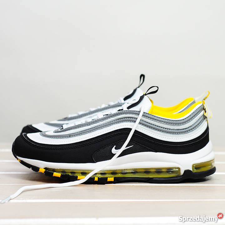 low cost 21c2f c3823 Nike Air Max 97 Black - Yellow - White r41 - 45