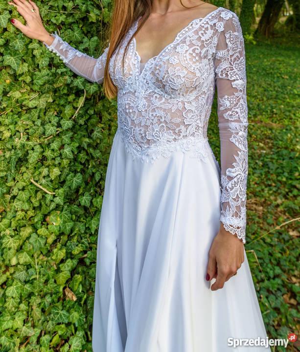 99afde2c42 suknie ślubne z rozcięciem - Sprzedajemy.pl
