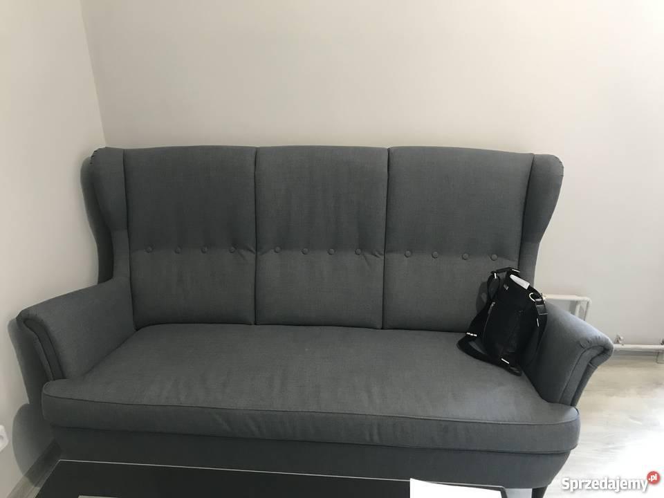 Kanapa Ikea Strandmon Trzyosobow