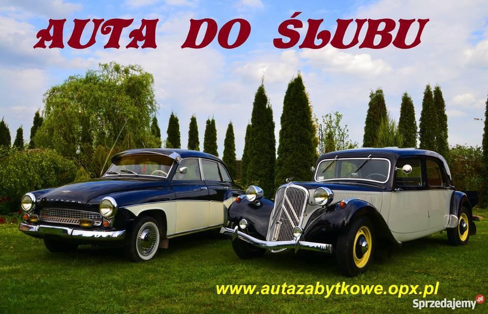 AUTO DO ŚLUBU CITROEN B11 z 1947 roku Warszawa