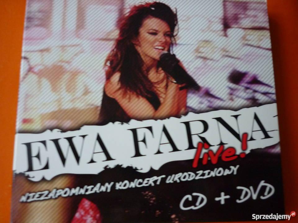 2 płyty CD DVD Ewa Farna live niezapomniany Warszawa sprzedam