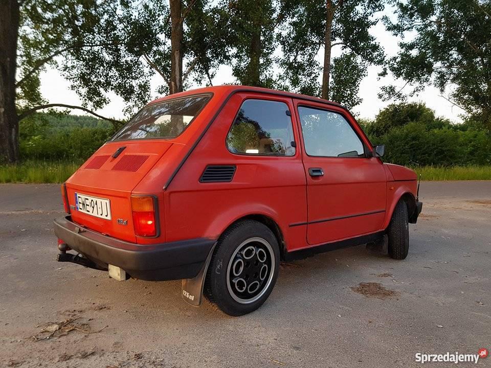 Fiat 126p EL elegant maluch oc przegląd 2/3 126 Bełchatów