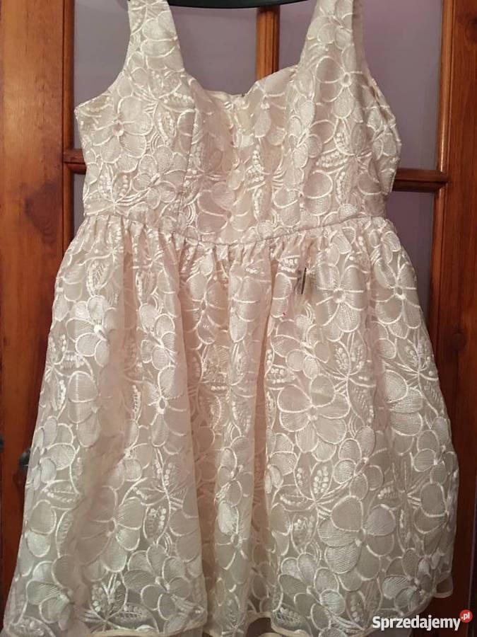 2b18f9a25e Sprzedam nowa sukienkę firmy Chi Chi London Plus Spódnice i sukienki Cieszyn