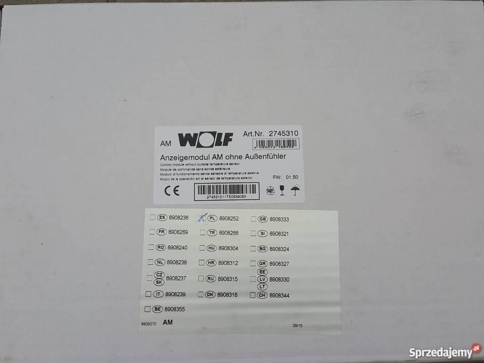 2745310 Wolf Anzeigemodul AM ohne Außenfühler Art Nr