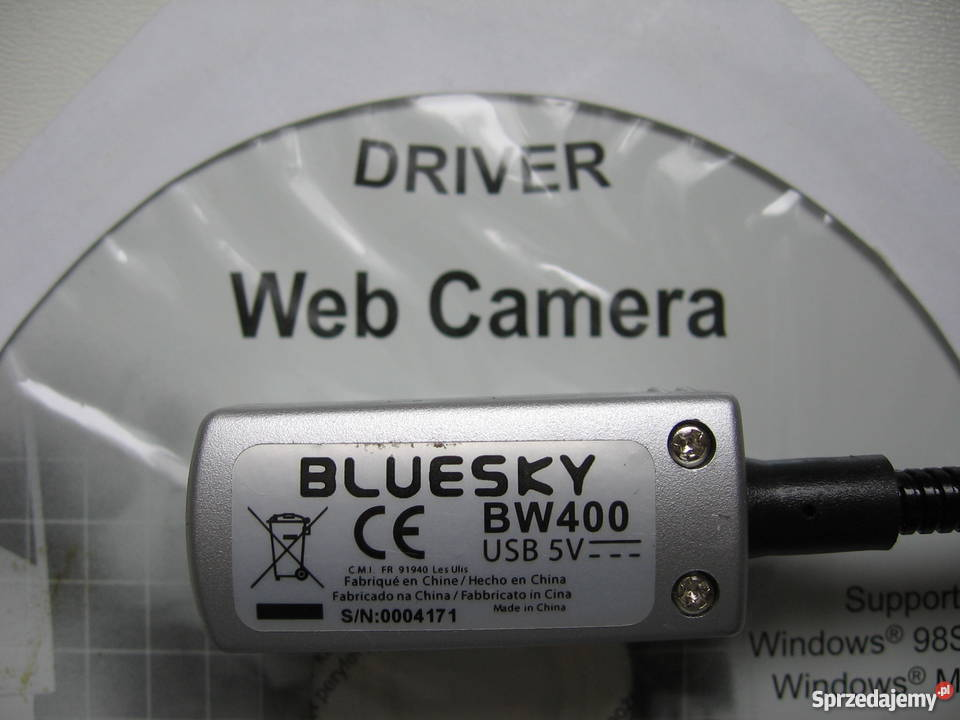 driver camara web bluesky bw 400