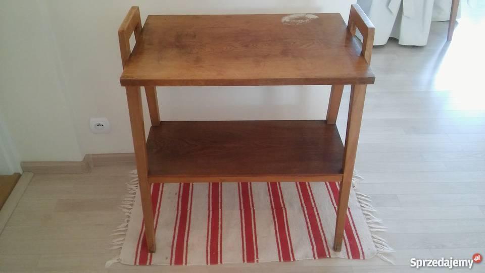 wzornictwo etażerka, półka stojąca stolik mebel vintage
