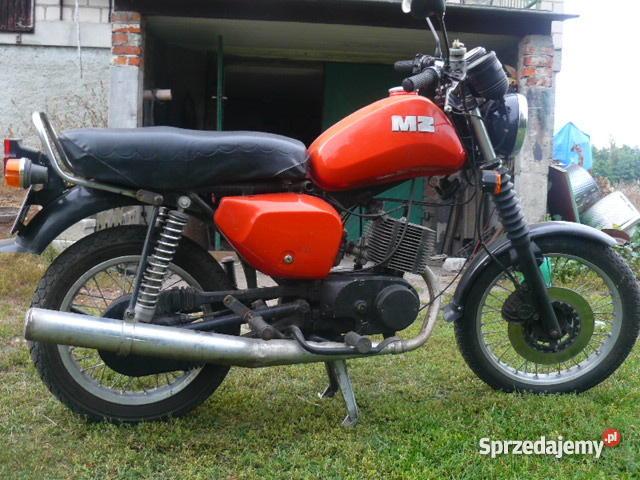 motor MZ ETZ 150 Naprawdę kujawsko-pomorskie Wąbrzeźno