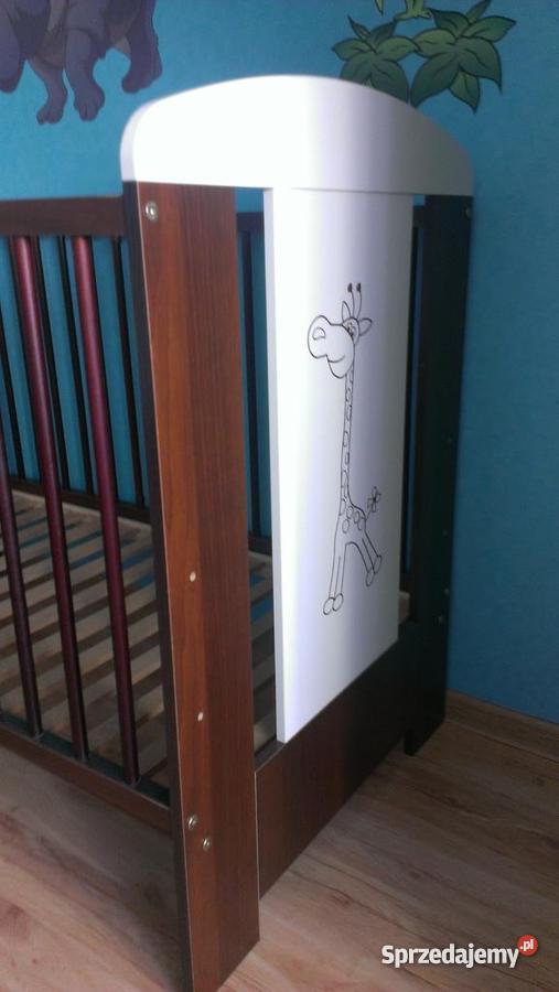 meble dziecięce klupś Żyrafka komplet komoda �243żeczko