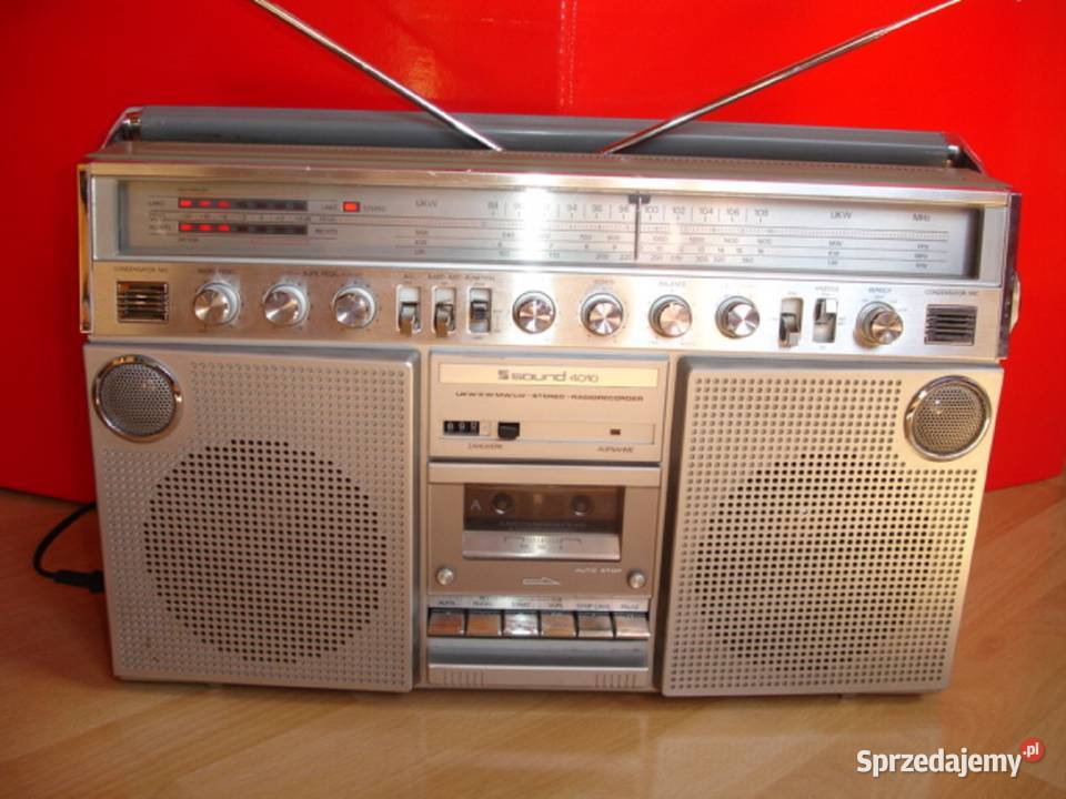 Radiomagnetofon SOUND-4010
